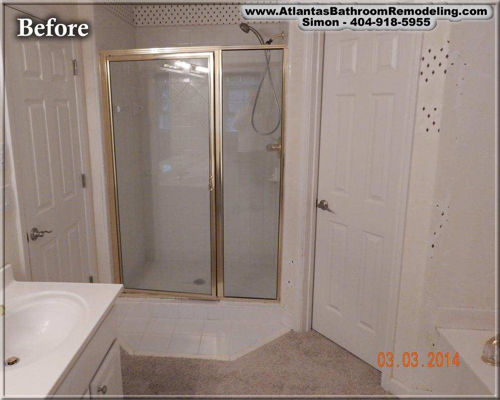 Johns creek ga bathroom remodeling company bath for Bath remodel alpharetta