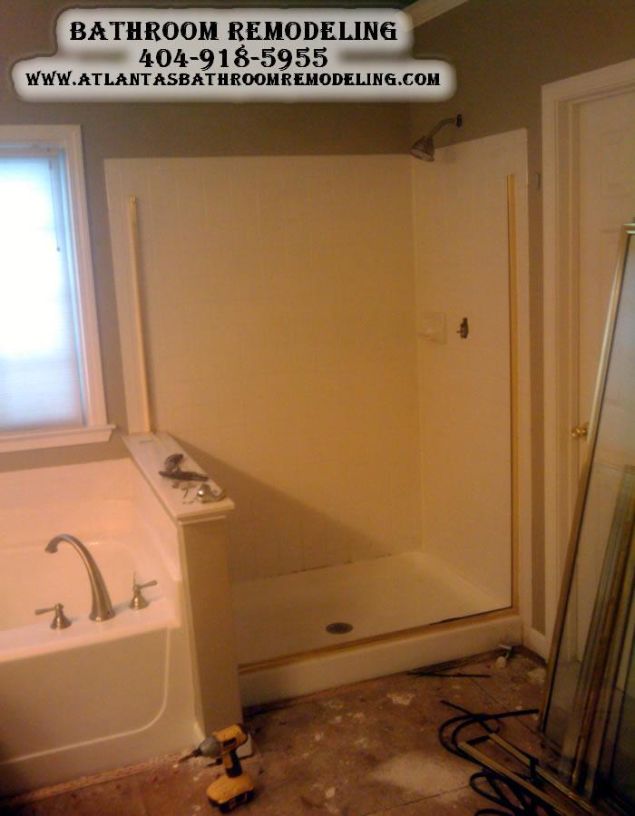 Suwanee Ga Bathroom Remodelers Bathroom Remodeling Company In Suwanee Ga Suwanee Ga Shower Pan